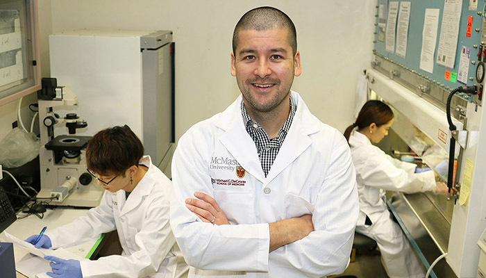 Jeremy Hirota, Canada Research Chair in Respiratory Mucosal Immunology and assistant professor of medicine