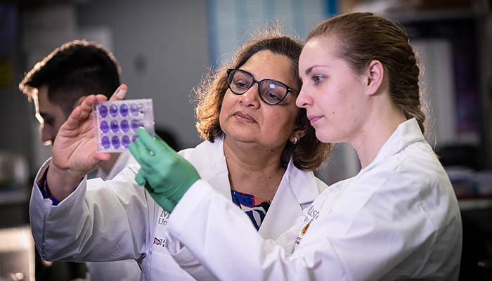 Kaushic is a professor of pathology and molecular medicine in the Michael G. DeGroote School of Medicine, as well as an associate member of obstetrics and gynecology, and biochemistry and biomedical sciences at McMaster University..